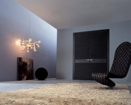 двери должны гармонировать с интерьером помещения