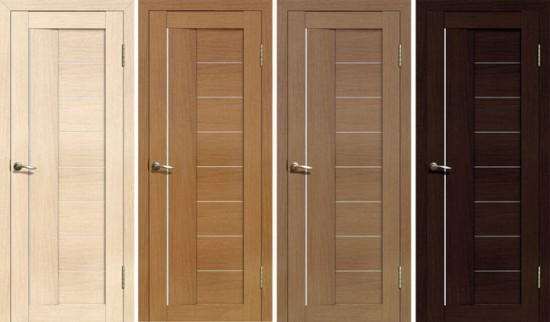 Двери из искусственного шпона