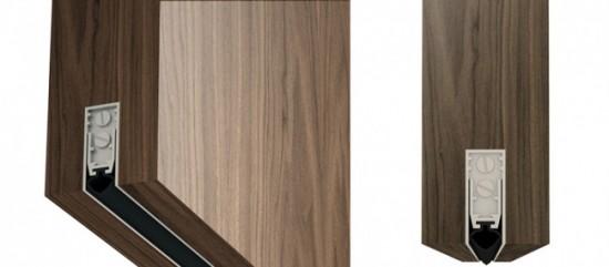 Умный порог способствует надежной изоляции помещения от запахов и пара