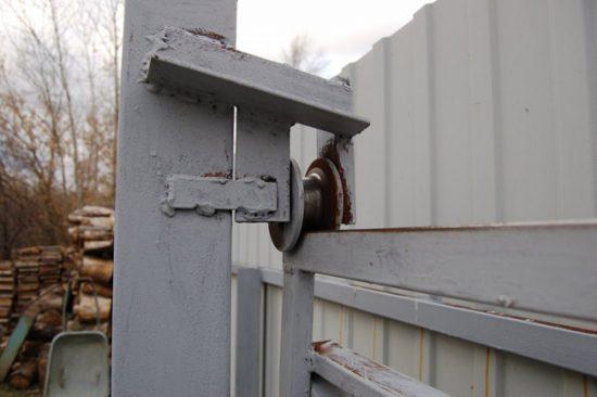 Механизм раздвижных ворот