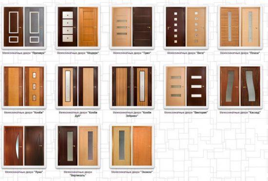 Моделей дверей Оникс