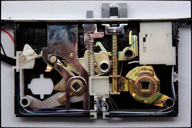 Механизм электромеханического замка