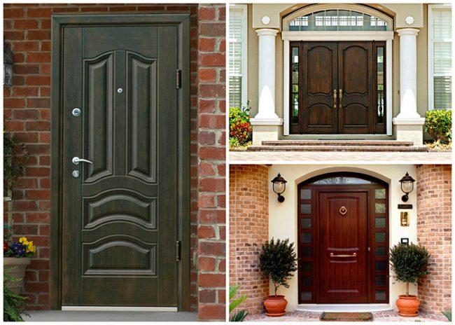 Использование дверей с типовыми размерами облегчает и удешевляет их монтаж