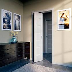 Межкомнатная дверь-книжка