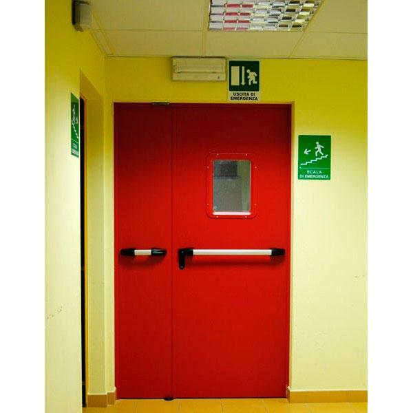 Некоторые помещения обязательно должны быть оборудованы противопожарными дверями