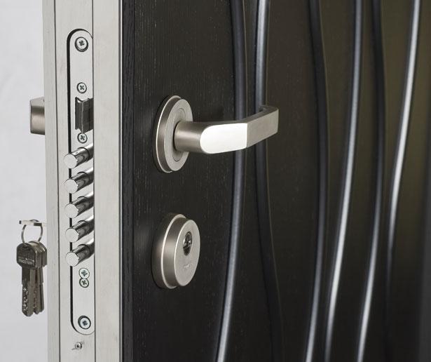 Установить замок в металлическую дверь