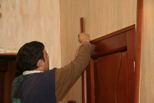 Наличники на двери своими руками