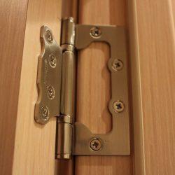 Как врезать петли в дверь