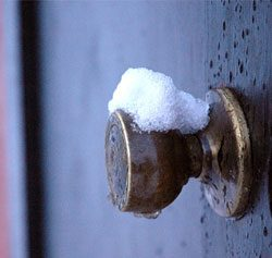 Конденсат на входной двери